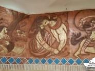 pottery , ceramic Relief ,  Interior Decoration