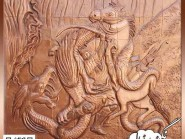 pottery , pottery Relief ,Interior Decoration