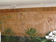 pottery , pottery Relief , Lobby building