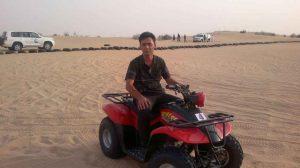 سفال نقش برجسته -صحرای دبی