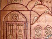 کد 70 - سفال نقش برجسته ، نقش برجسته سفالی ، سفال برجسته ، تابلو سفالی ، کتیبه سفالی ، تابلو سفال نقش برجسته ، نقش برجسته سفال