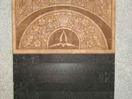 کد 89 - سفال نقش برجسته ، نقش برجسته سفالی ، سفال برجسته ، تابلو سفالی ، کتیبه سفالی ، تابلو سفال نقش برجسته ، نقش برجسته سفال